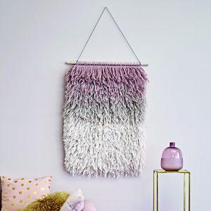Laundry pastel hanging