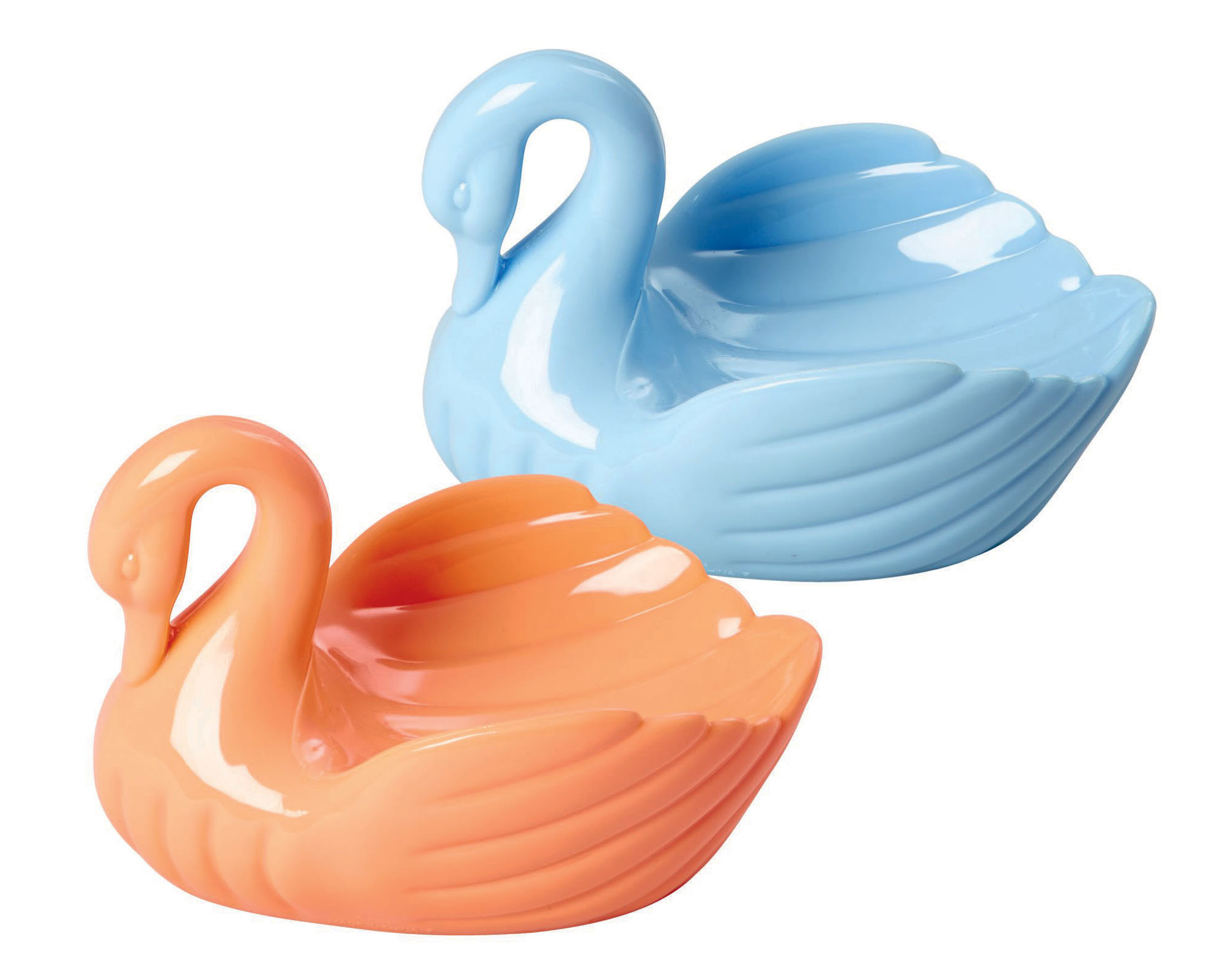 laundry swans