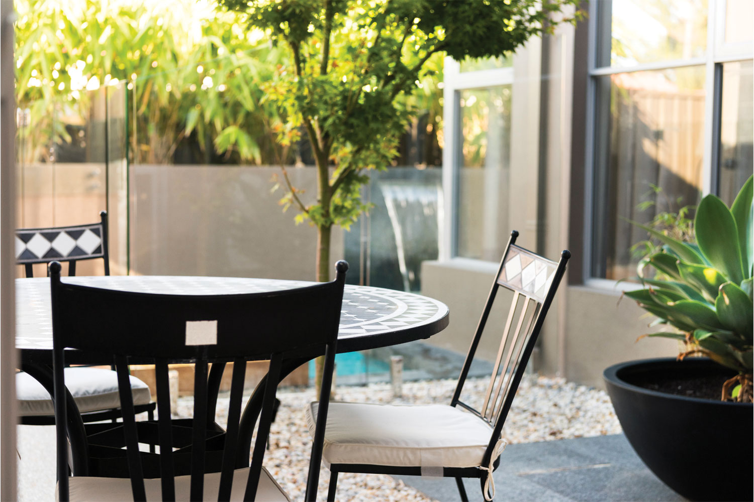 A place for all: tranquil outdoor space