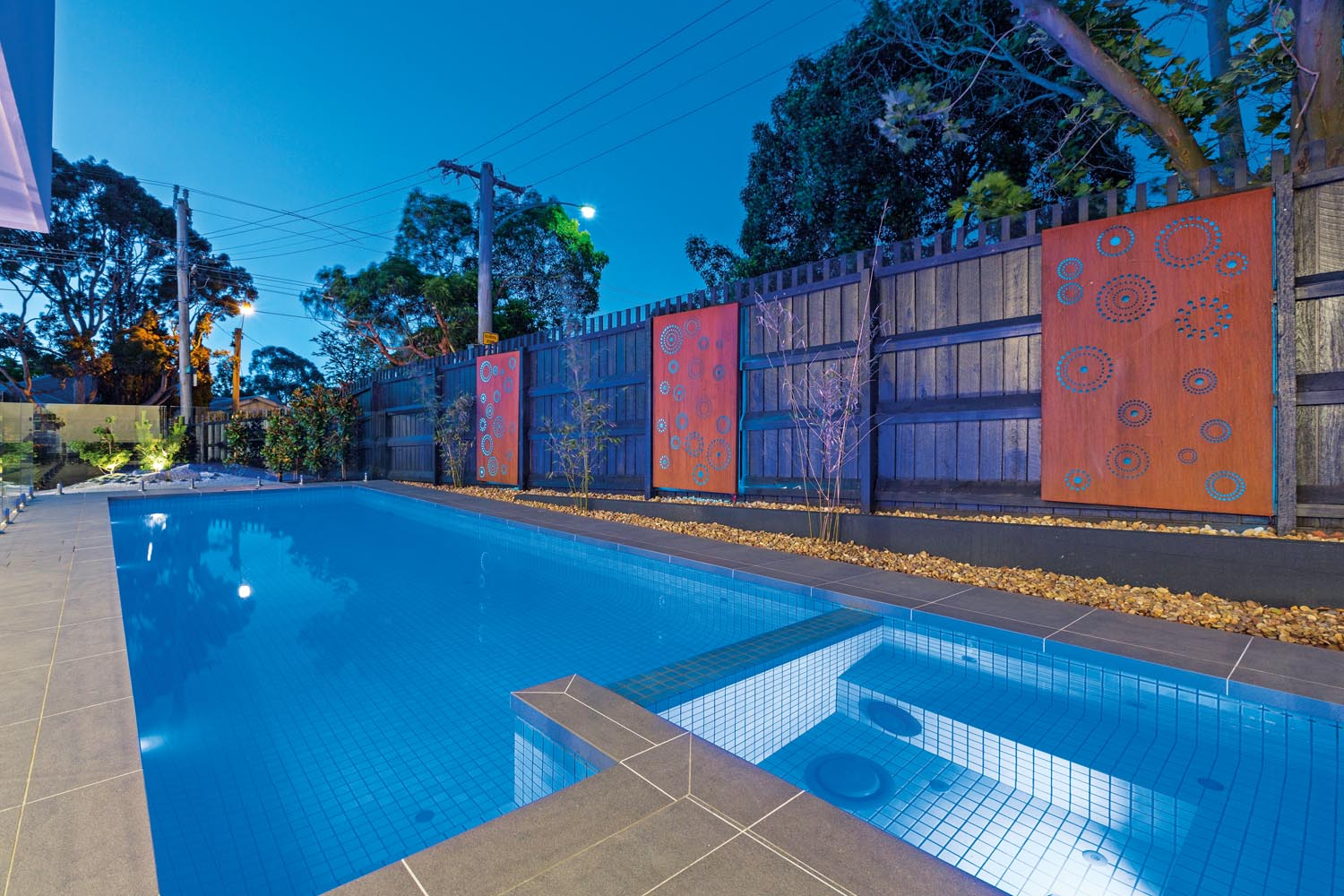 Japanese-inspired design: a landscape and pool project