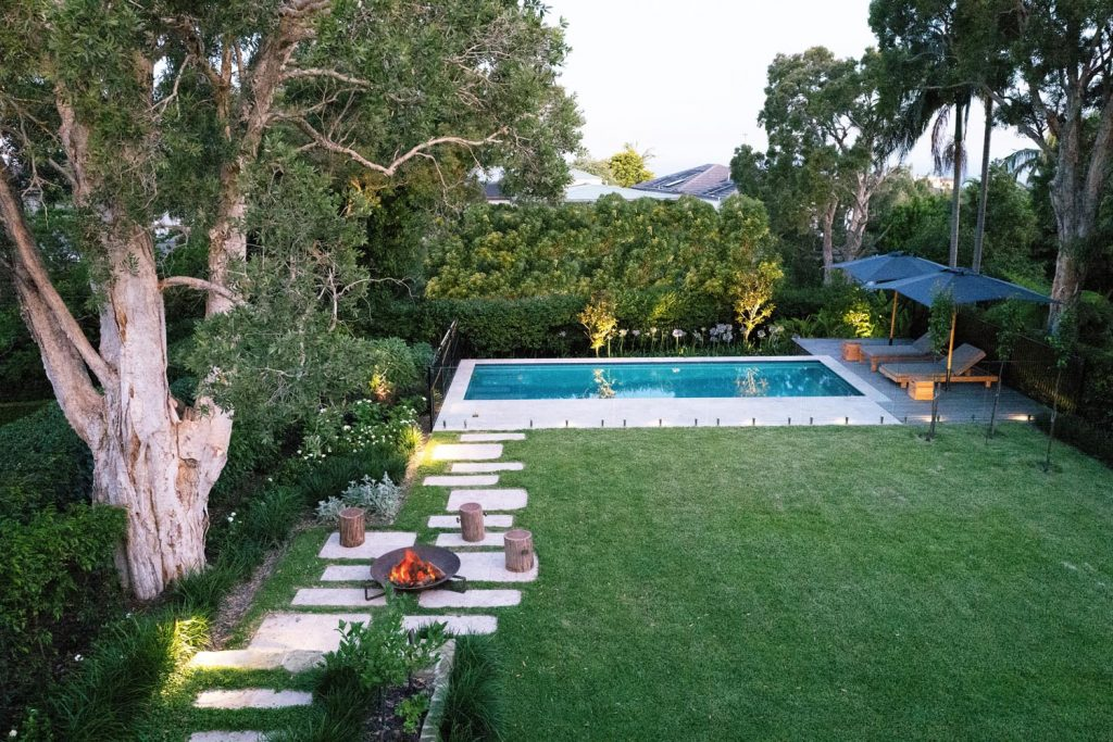 Something Blue, Something New: a classic pool project