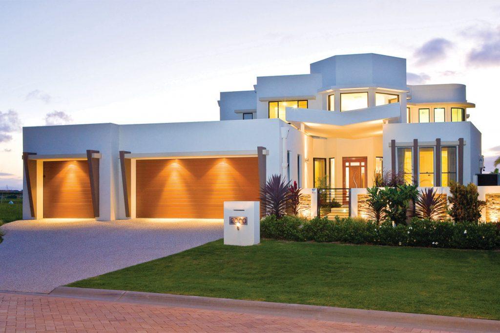 A custom design: ultra-luxury home