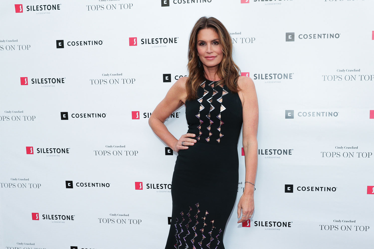 Cosentino and Cindy Crawford host new