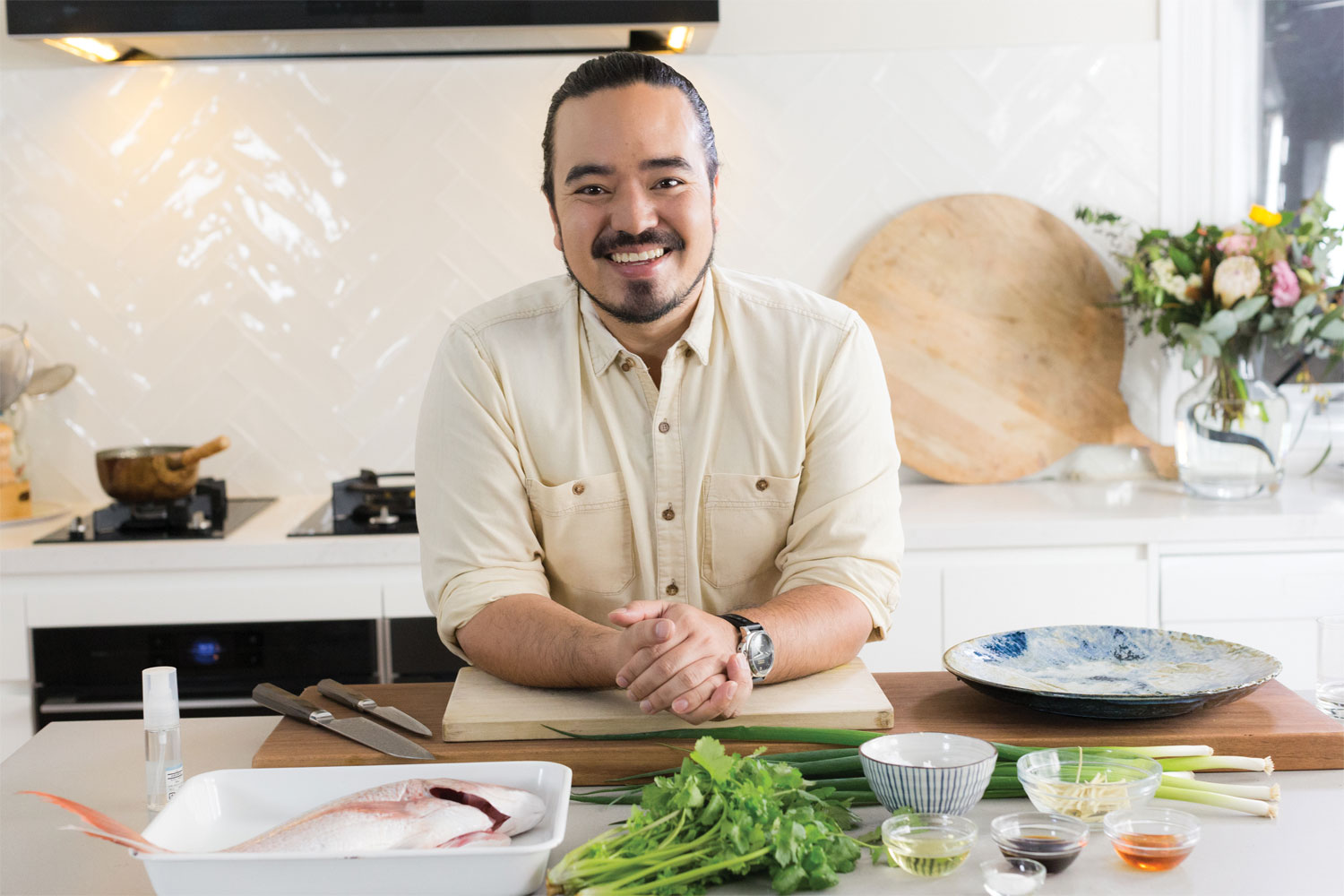 Steam cooking with Adam Liaw: a