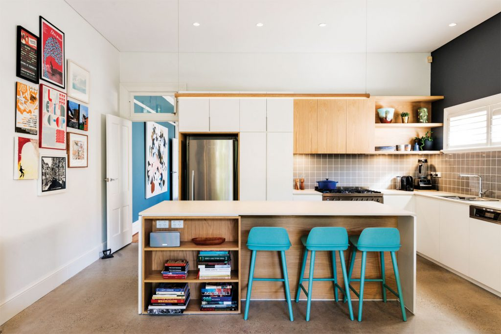 10 quality kitchen designs: 6. Cool and colourful