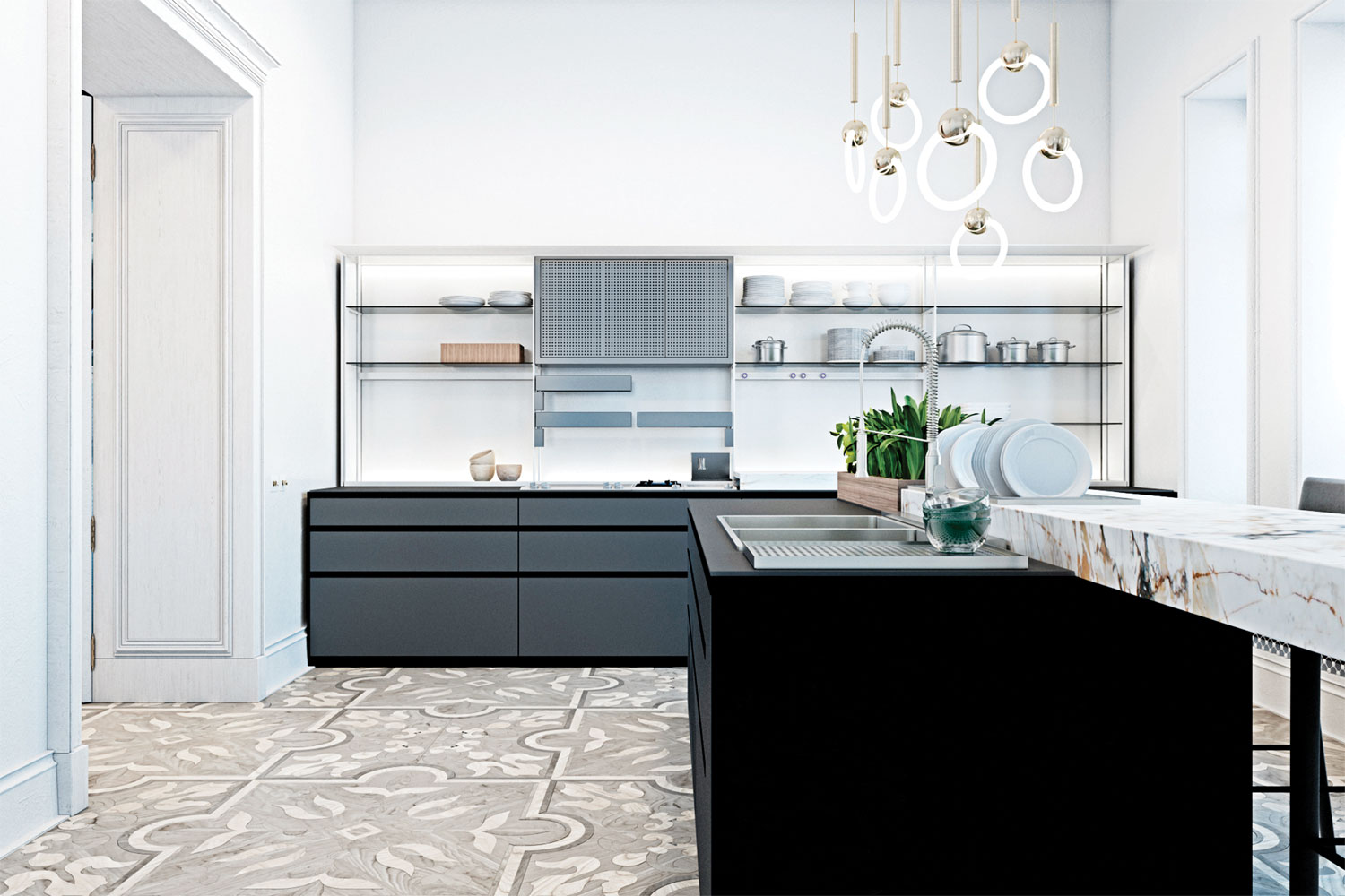 9 quality kitchen designs: 7. Italian luxe