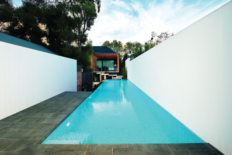 Multi-award winner: a stunning lap pool