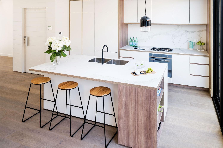 Stylish storage solution: a kitchen project