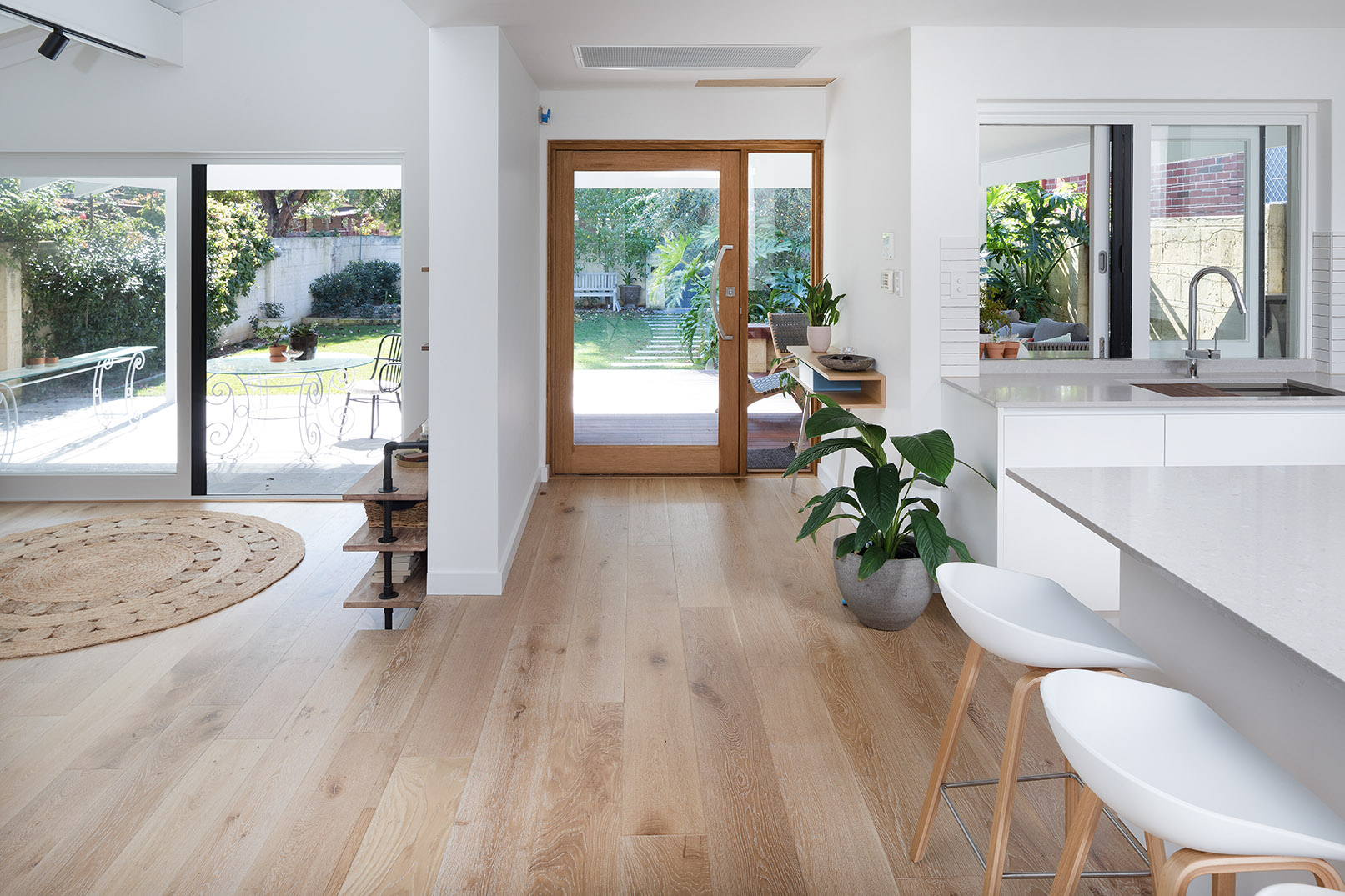 Bright and beachy: a Cottesloe renovation