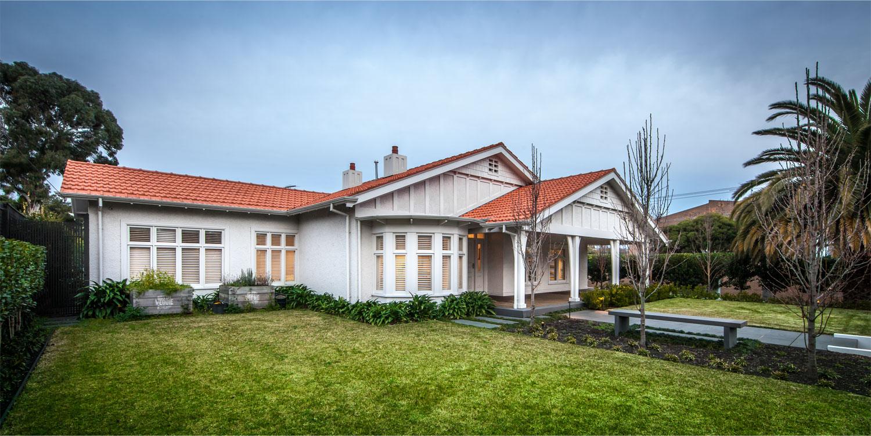 Bluestone beauty: Melbourne home