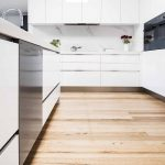 Seamless style: a bright, white kitchen creation