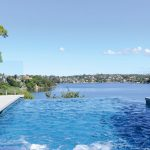 Into the blue: a stunning pool and mosaic design