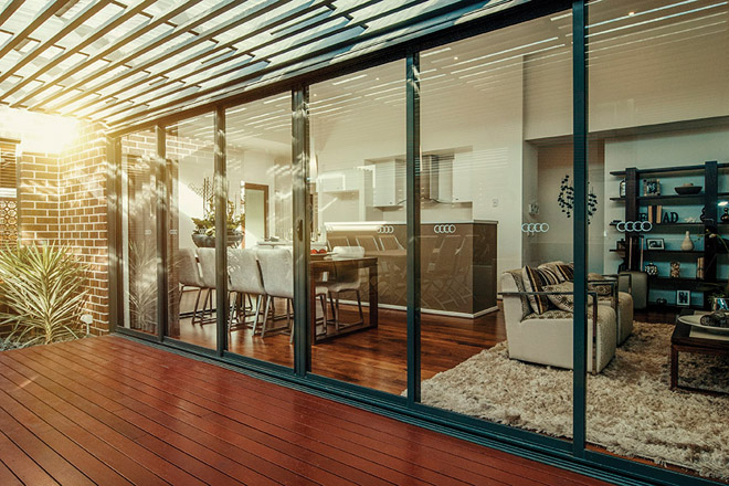 Slide right in: the new Dowell Alfresco sliding door