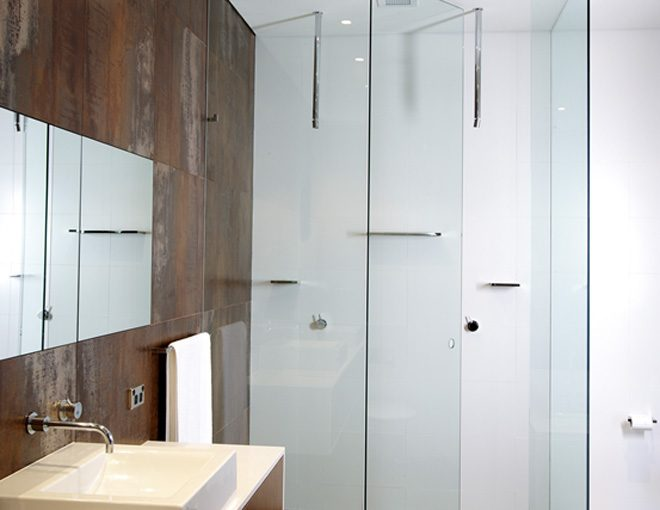 The secret to shiny shower screens