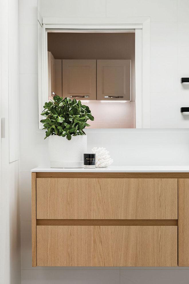 Updated kitchen, new bathroom: a Leederville design