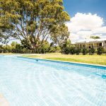 Rural attraction: countryside pool perfection