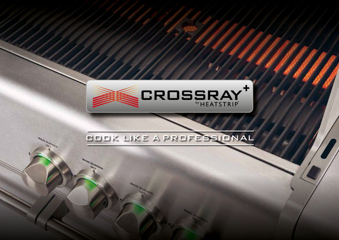 Cook like a professional: CROSSRAY+ infrared barbecue