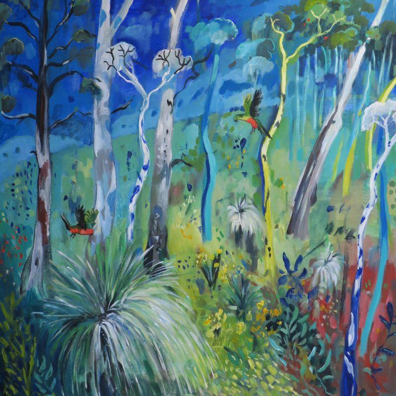 Bushland and Birds Susan Trudinger, AUD$480