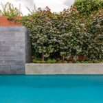 A perfect match: a modern, minimalist outdoor design
