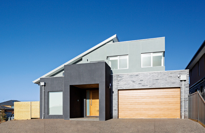 Standing out from the crowd: a stunning custom-built house