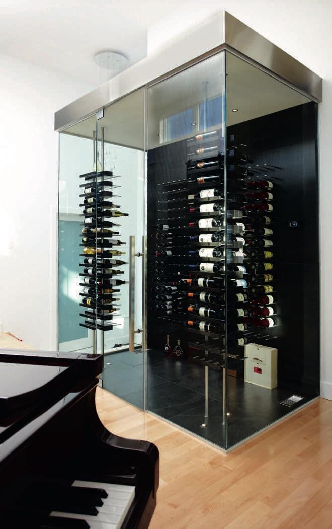 Wine Wall Art: an innovative wine rack design