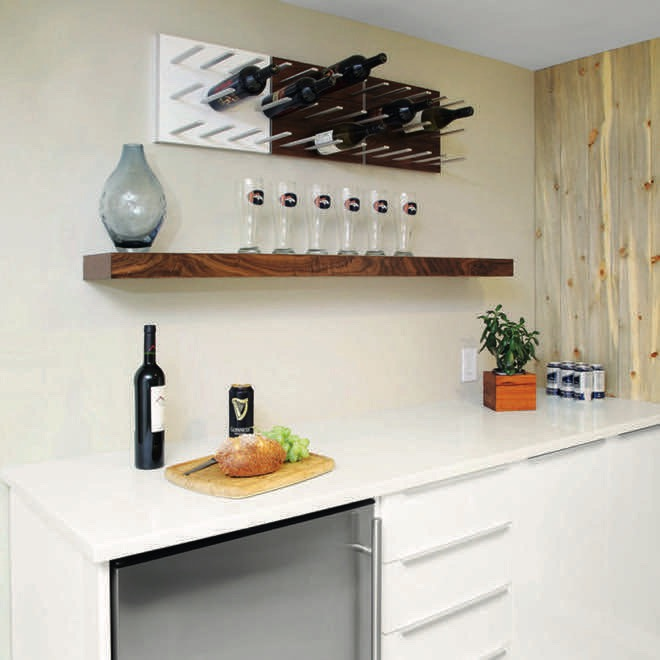Wine Wall Art An Innovative Wine Rack Design Completehome