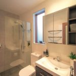 Creating the illusion of space in a small bathroom