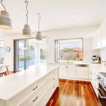 Open-plan living with Carrera Kitchens
