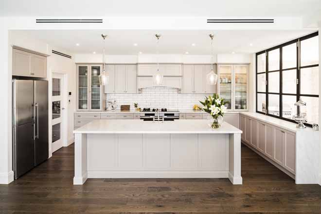 Shaker-style renovation by Urban Kitchens