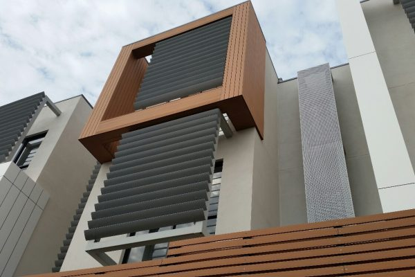 Composite Exterior Cladding A Townhouse Project