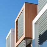 Composite Exterior Cladding: a townhouse project