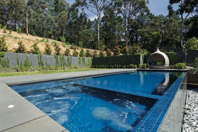 Family fun: a clever, functional Melbourne pool