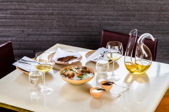 Riedel glassware wine