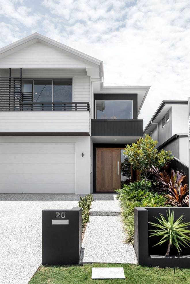 Inside a Brisbane small-lot home