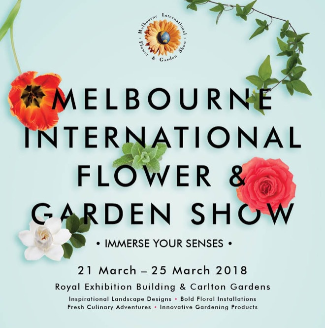 Immerse Your Senses: the 2018 Melbourne International Flower & Garden Show