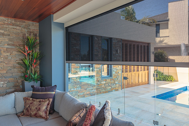 Zipscreen Outdoor Shades: It's all about what you don't see