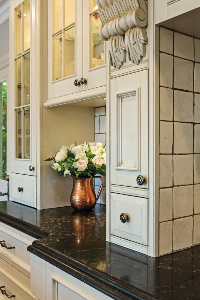 Country Charm: a country-style kitchen design