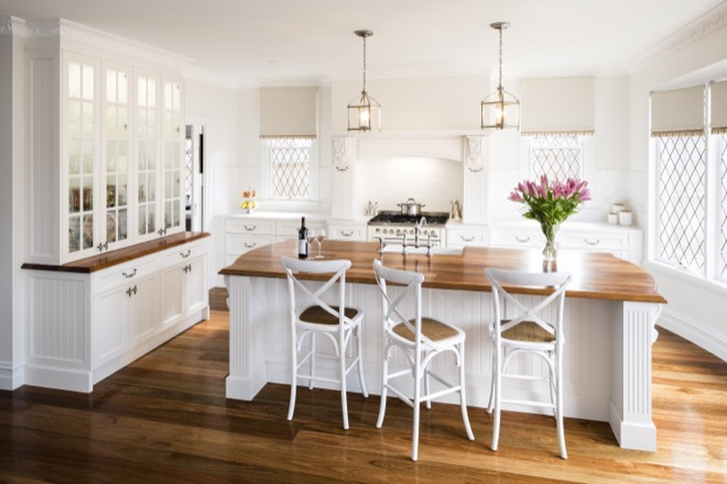 Heritage kitchen design: lighting the way