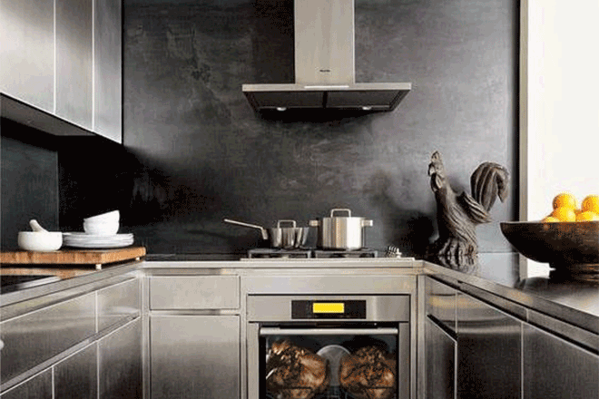 Stainless Steel: on-trend for all styles of kitchens