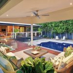 Subtropical Oasis: a serene outdoor sanctuary