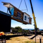 Caves Beach home: large-scale modular building