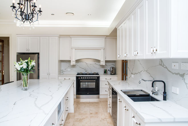 Touch of the traditional by Kellyville Kitchens