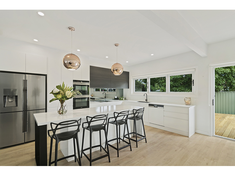 light, bright and modern kitchen