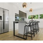 A light, bright and modern kitchen by Designline