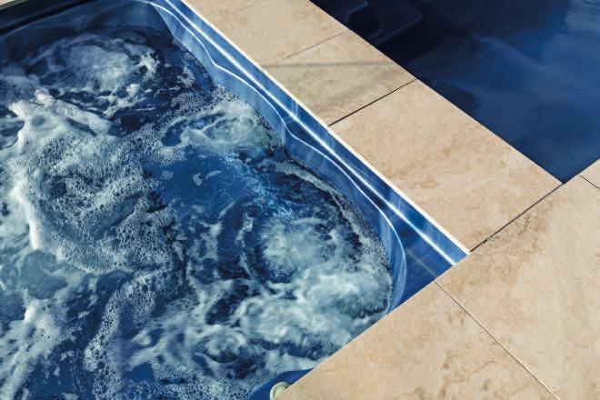 Bella Vista: a picture-perfect pool and spa combination