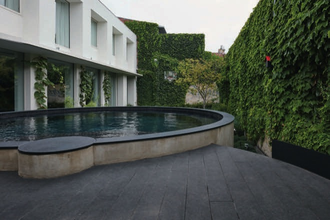 Sweet spot: a clever courtyard pool