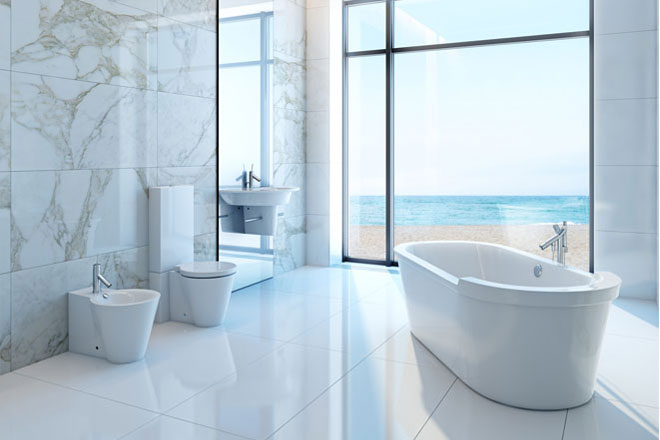 The benefits of bathroom floor heating