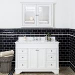 Return to nature: rustic wooden vanities