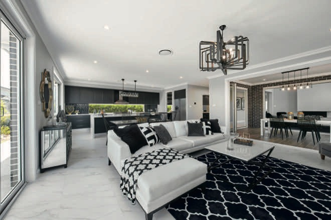 Luxurious living: an entertainer's dream home
