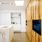 Discreet kitchen design by Smith & Smith Kitchens